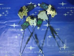 Замок двери. Subaru Forester, SG, SG5, SG9, SG9L Двигатели: EJ20, EJ201, EJ202, EJ203, EJ204, EJ205, EJ20A, EJ20E, EJ20G, EJ20J, EJ25, EJ251, EJ253, E...