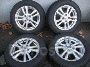Литые диски R14 с зимними шинами 175/65R14 Goodyear Ice Navi Zea II. 5.5x14 4x100.00 ET42 ЦО 73,0мм.