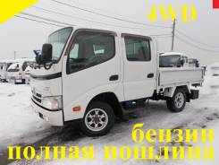 Toyota Dyna. 2010г., 4WD, двухкабинник, бензин, 2 000 куб. см., 1 500 кг.