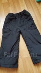 Тёплые штаны. Рост: 80-86, 86-98 см