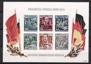 Марки Германии 1955 г MNH