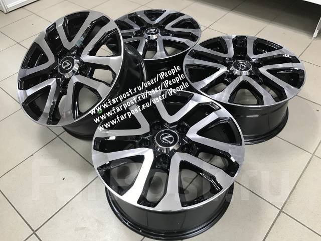 Toyota. 8.0x17, 5x150.00, ET60, ЦО 110,0мм.
