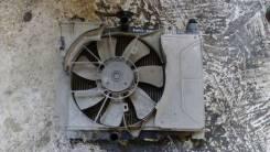 Радиатор охлаждения двигателя. Toyota Vitz, NCP131, SCP10, SCP13, NCP10, NCP13, NCP15 Toyota Platz, SCP11, NCP16, NCP12 Двигатель 1SZFE
