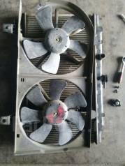 Вентилятор охлаждения радиатора. Nissan AD, WHNY11, VHNY11 Двигатель QG18DE