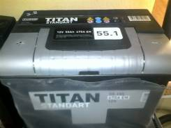 Titan. 55 А.ч., Прямая (правое), производство Россия