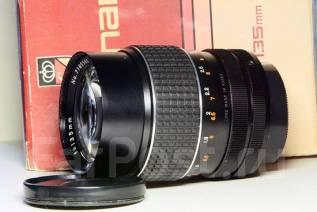 Super Carenar MC 1:2.8/135mm japan собственная бленда, маленький, новый. Для Pentax, диаметр фильтра 52 мм