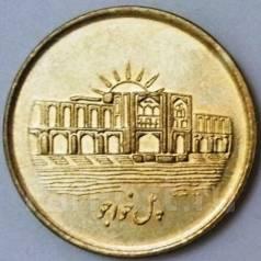 Иран 1000 риалов 2008 год (иностранные монеты)