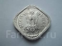 Индия 5 пайс 1968 год