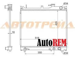 Радиатор охлаждения двигателя. Suzuki Vitara Suzuki Escudo, TD02W, TD01W, TD11W, TD32W, TD54W, TA02W, TD62W, TD51W, TDB4W, TD61W, TD31W, TD52W, TD94W...