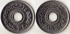 Египет 25 пиастров 1993 год (иностранные монеты)