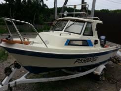 Yamaha Fish 17. Год: 1992 год, длина 5,50м., двигатель подвесной, 50,00л.с., бензин