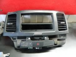 Консоль центральная. Mitsubishi Lancer X