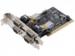 Контроллер Orient XWT-PS054 4x COM Port (2x 9pin M + 2x 9pin F),PCI