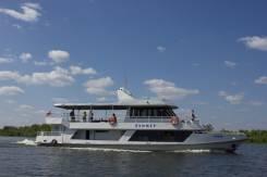 Прогулочное судно «Буммер». Год: 1987 год, длина 19,90м., двигатель стационарный, 122,00л.с., дизель