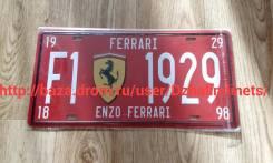 Табличка. Ferrari Enzo Ferrari
