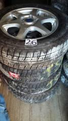 Bridgestone. Зимние, 2008 год, износ: 10%, 4 шт