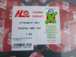 Прокладка головки блока цилиндров. Toyota Toyoace, BZU410, BZU600, BU122, BU132, BU297, BU102, BU112, BU162, BU172, XZU302, BU142, XZU342, BU182, BZU3...