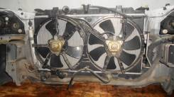 Радиатор охлаждения двигателя. Nissan Primera, QP12, P12 Двигатели: QG16DE, QC18DE, QG18DE