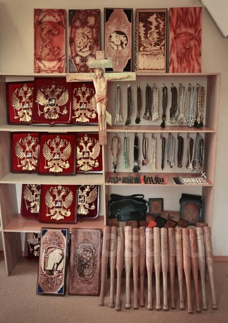 Создаём изделия из кожи и дерева! Нарды, чётки, клатчи, ножи, сувениры