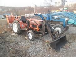 Kubota B1-17. : трактор с Погрузчиком: 17л. с., 4wd, фреза, ВОМ