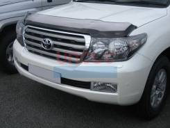 Дефлектор капота. Toyota Land Cruiser, GRJ200, J200, URJ200, UZJ200, UZJ200W, VDJ200