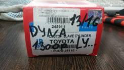 Цилиндр сцепления рабочий. Toyota: Toyoace, Quick Delivery, Hiace, Land Cruiser, Regius Ace, Hilux, Dyna, Land Cruiser Prado Двигатели: 5L, 2L, 3L, 2L...