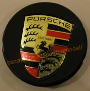 """Колпачки Porsche Cayenne черные. Диаметр 20"""""""", 1шт"""