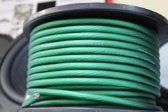 Кабель силовой зеленый 8GA 1/100 Alphard AE-8GA green