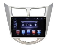 Штатная магнитола Hyundai Solaris, Verna Ksize DVA-MFB021 Android