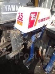 Suzuki. 3,50л.с., 2-тактный, бензиновый, нога S (381 мм), Год: 1984 год