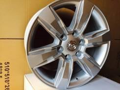 Toyota Land Cruiser Prado. 7.5x18, 6x139.70, ET25, ЦО 106,0мм. Под заказ