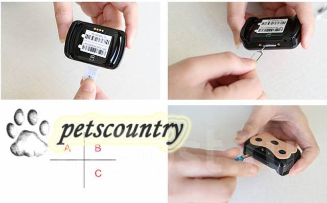 GPS трекер для животных MonkeyG Deest 69