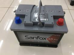 Sanfox. 55 А.ч., левое крепление. Под заказ