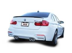 Выхлопная система. BMW M3 BMW M4