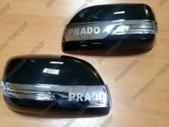Накладка на зеркало. Toyota Land Cruiser Prado, GDJ150L, GRJ151, GDJ150W, GRJ150, GDJ151W, GRJ150L, GRJ150W, GRJ151W. Под заказ