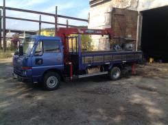 Nissan Atlas. Продается грузовик с манипулятором, 3 500 куб. см., 3 500 кг.