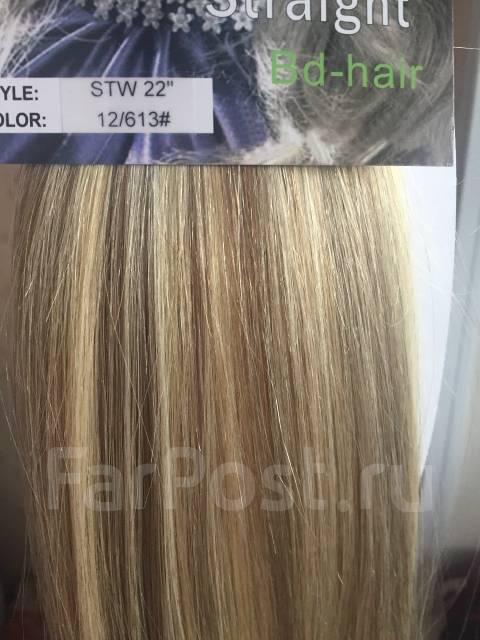 Милированные пряди из натуральных волос