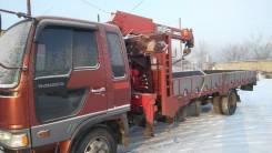 Hino Ranger. HINO Ranger с манипулятором (воровайка), 7 500 куб. см., 5 000 кг.