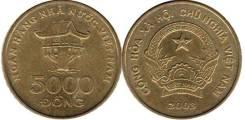 Вьетнам 5000 донгов 2003 год