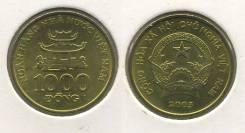 Вьетнам 1000 донгов 2003 год