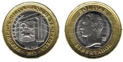 Венесуэла 1 боливар 2012 год (иностранные монеты)