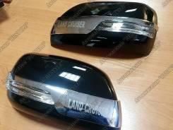 Накладка на зеркало. Toyota Land Cruiser, UZJ200W, VDJ200, J200, URJ202W, GRJ200, URJ200, URJ202, UZJ200. Под заказ