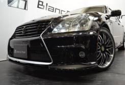 Передний бампер Black Noir для Toyota Crown GRS180 2004-2008