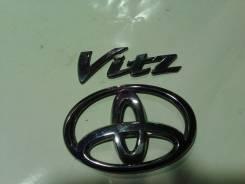 Эмблема. Toyota Vitz, KSP90 Двигатель 1KRFE