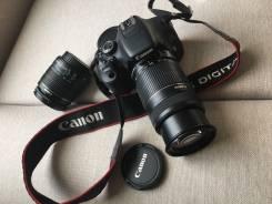 Canon EOS 600D Kit. 15 - 19.9 Мп, зум: 7х