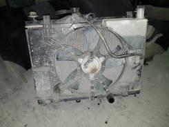 Радиатор охлаждения двигателя. Nissan Tiida, C11X, NC11, JC11, C11, SC11X, SC11, SJC11, SNC11, SZC11 Nissan Tiida Latio, SJC11, SNC11, SZC11, SC11 Дви...