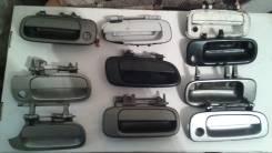 Ручка двери внешняя. Toyota: Corolla, Carina, Vista, Camry, Chaser Двигатели: 2CT, 3CT, 2C, 2E, 2LTE