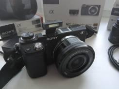 Sony Alpha NEX-6 Kit. 15 - 19.9 Мп, зум: 3х. Под заказ