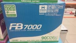 FB 7000. 80 А.ч., левое крепление, производство Япония