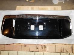 Накладка на дверь багажника. Toyota Land Cruiser Prado, GRJ150L, TRJ150, GRJ150W, GRJ150